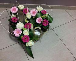 Infiniment Fleurs - Landerneau - Deuil actualisé - Coeur 2