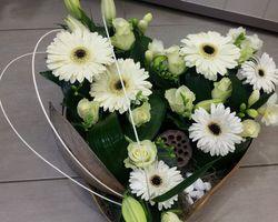 Infiniment Fleurs - Landerneau - Deuil actualisé - Coeur 3