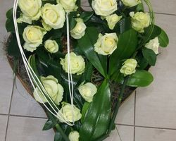 Infiniment Fleurs - Landerneau - Deuil actualisé - Coeur 4