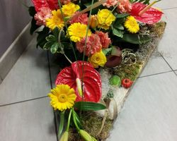 Infiniment Fleurs - Landerneau - Deuil actualisé - Triangle bas 2