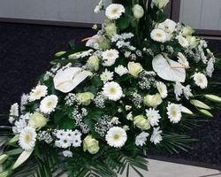 Infiniment Fleurs -  Landerneau - Deuil -  Dessus de cercueil 1