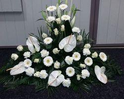 Infiniment Fleurs -  Landerneau - Deuil -  Devant de cercueil 3
