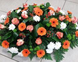 Infiniment Fleurs -  Landerneau - Deuil -  Coussin ovoïde 2