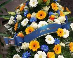 Infiniment Fleurs -  Landerneau - Deuil -  Dessus de cercueil 2