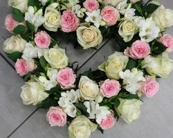 Infiniment Fleurs -  Landerneau - Deuil -  Coeur ouvert 3