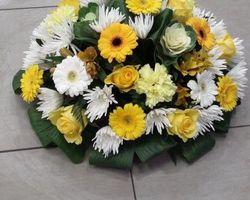 Infiniment Fleurs -  Landerneau - Deuil -  Coussin rond 12