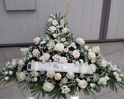 Infiniment Fleurs -  Landerneau - Deuil -  Devant de cercueil 2