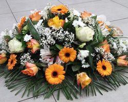 Infiniment Fleurs -  Landerneau - Deuil -  Coussin ovoïde 3