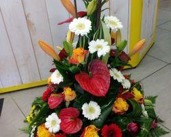 Infiniment Fleurs -  Landerneau - Deuil -  Coussin conique 5