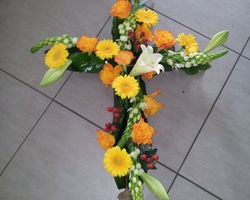 Infiniment Fleurs -  Landerneau - Deuil -  Croix