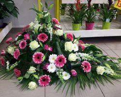 Infiniment Fleurs -  Landerneau - Deuil -  Dessus de cercueil 7