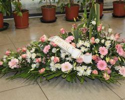 Infiniment Fleurs -  Landerneau - Deuil -  Dessus de cercueil 5b