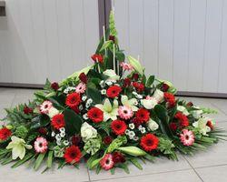 Infiniment Fleurs -  Landerneau - Deuil -  Devant de cercueil 5