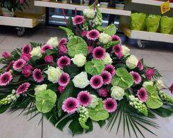 Infiniment Fleurs -  Landerneau - Deuil -  Devant de cercueil 1