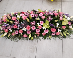 Infiniment Fleurs -  Landerneau - Deuil -  Dessus de cercueil 6