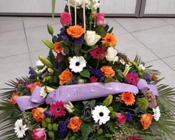 Infiniment Fleurs -  Landerneau - Deuil -  Coussin conique 3