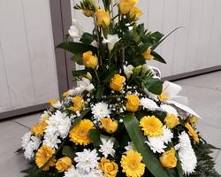 Infiniment Fleurs -  Landerneau - Deuil -  Coussin conique 2