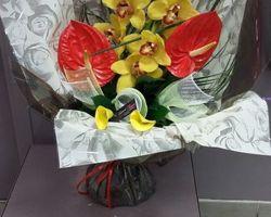 Infiniment Fleurs - Landerneau - Bouquet bulle en hauteur 1