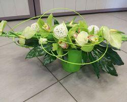 Infiniment Fleurs - Landerneau - Composition Piquée 3