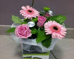 Infiniment Fleurs - Landerneau - Composition Piquée 5