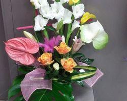 Infiniment Fleurs - Landerneau - Composition  piquée en hauteur 9