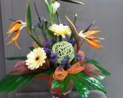 Infiniment Fleurs - Landerneau - Composition piquée 8
