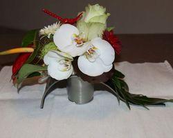 Infiniment Fleurs - Landerneau - Composition piquée 1