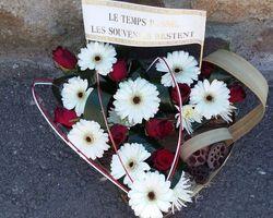 Infiniment Fleurs - Landerneau - Deuil actualisé - Coeur 1