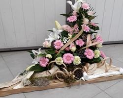 Infiniment - Fleurs - Landerneau - Deuil Actualisé - Triangle en hauteur 8