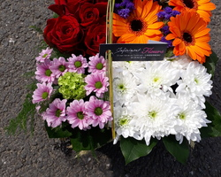 Infiniment Fleurs - Landerneau - Deuil actualisé - le carré