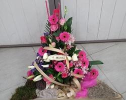 Infiniment Fleurs - Landerneau - Deuil Actualisé - Triangle en hauteur 10